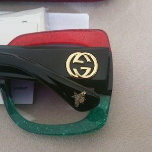 Authentic oversized Gucci Sunglasses